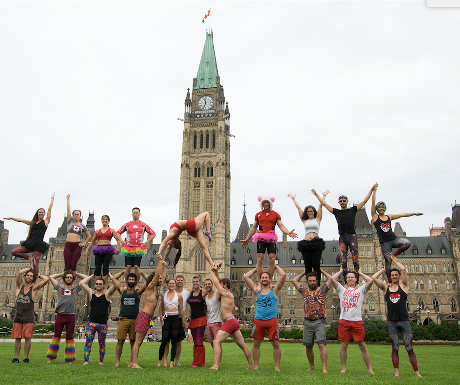 4th Canadian Acro Intensive