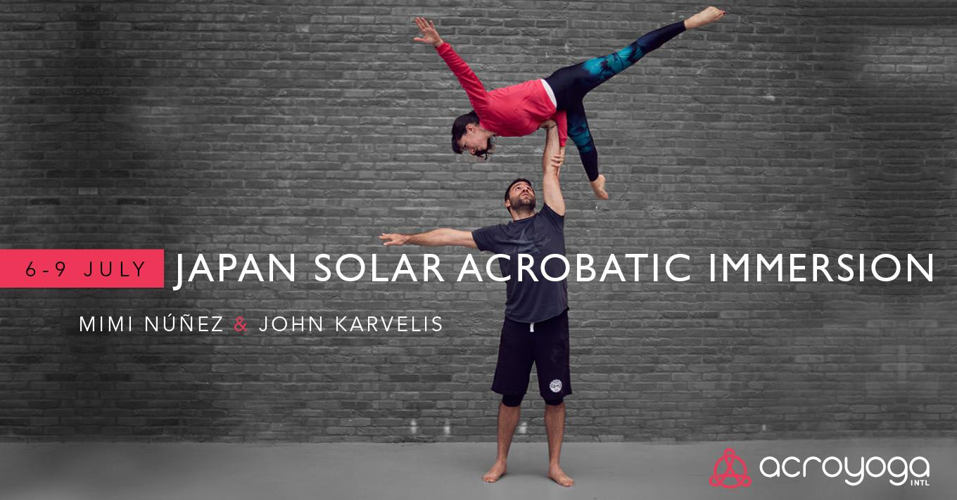 Acroyoga solar Immersion Japan