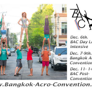 Bangkok Acro Convention 2019