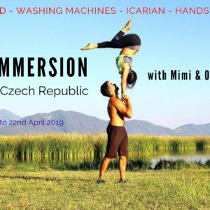 Acroyoga Solar Immersion Prague
