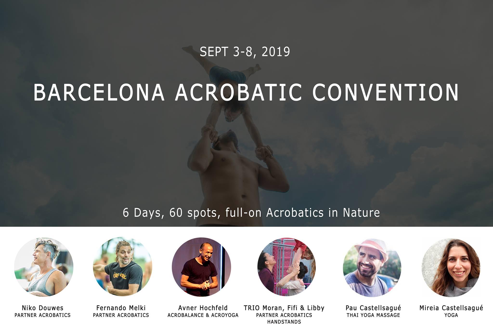 Barcelona Acro Convention 2019