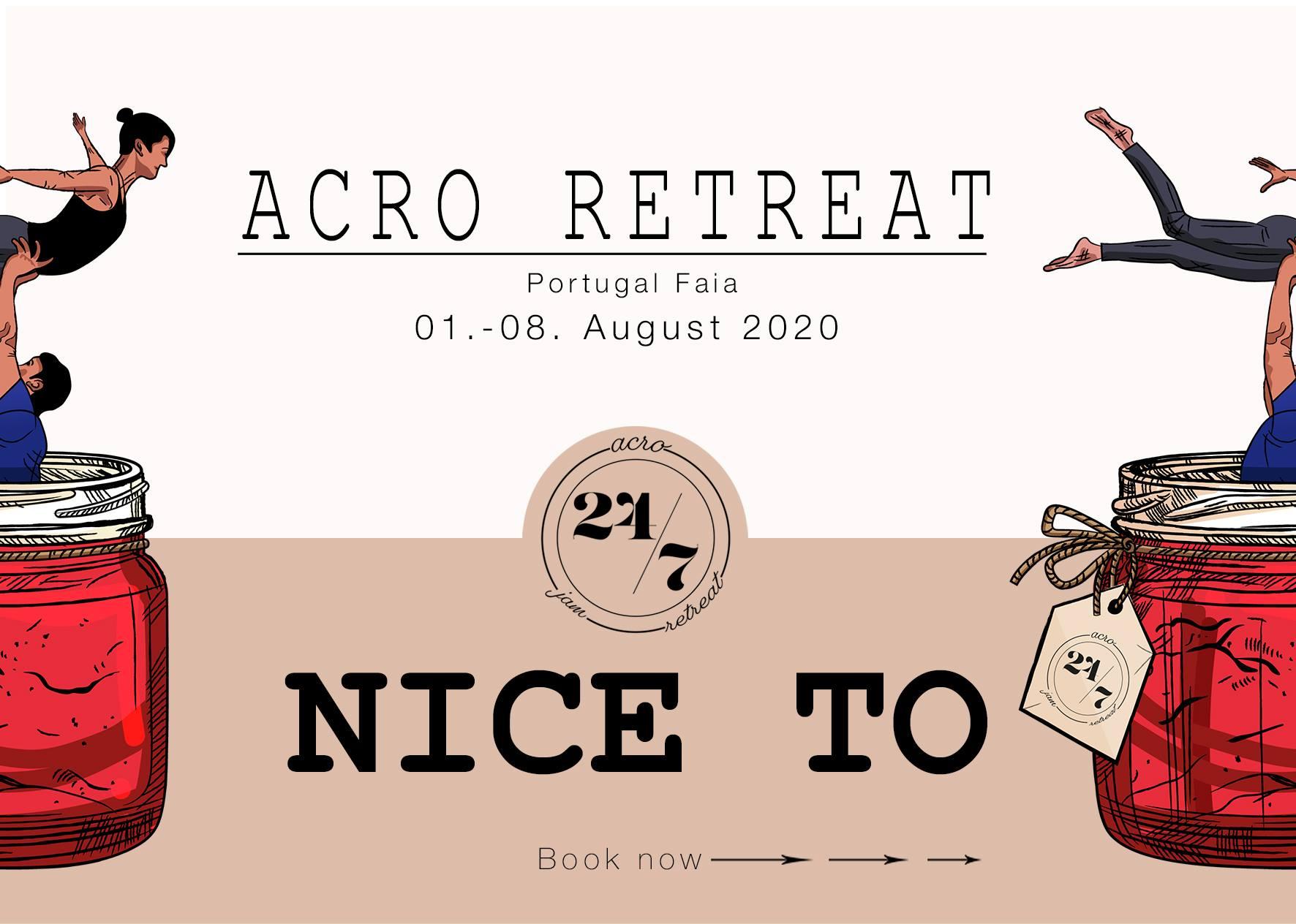 Acroyoga retreat Portugal 2020