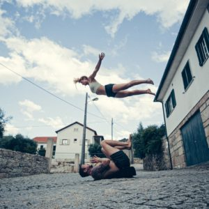 acro jam in Portugal