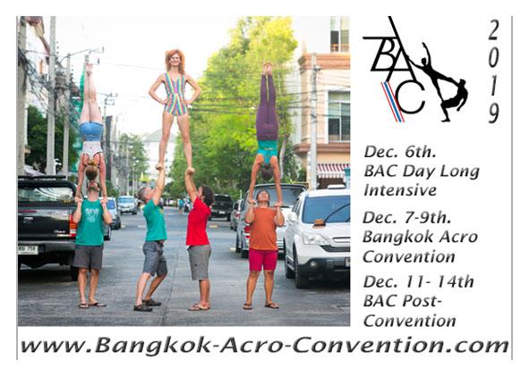 Bangkok Acro Convention 2019